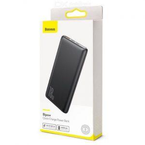 Baseus Bipow 10000mAh 18W USB C PD & QC 3.0 Slim Power Bank