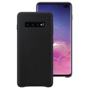 Official Leather Back Cover Galaxy S10 Plus