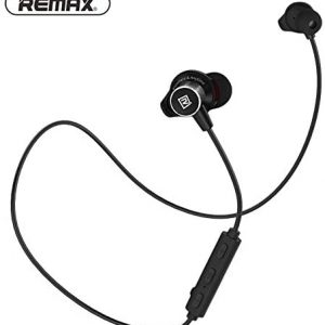 REMAX RB-S7 Sports Bluetooth Earphones Magnetic Earbuds - Black