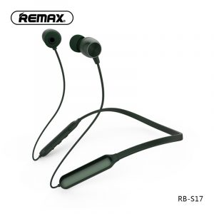 Remax S17 Wireless Bluetooth Sport Earphone V4.1 Neckband Earphones - Black
