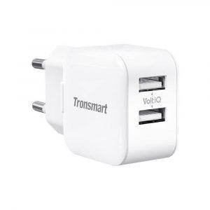 Tronsmart W02 Dual Port USB Wall Charger 12W VoltiQ