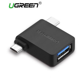 Ugreen-30453-Micro-USB-USB-C-To-USB-3.0-Adapter