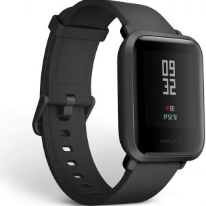 Amazfit Bip S Smart Watch 1.28 inch TFT Screen 40 Days Battery Life Dual GPS System Global Version - Black