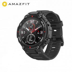 Amazfit T-Rex Outdoor Smart Watch 1.3 inch AMOLED 20 Days Battery Life - Carbon Fiber Black