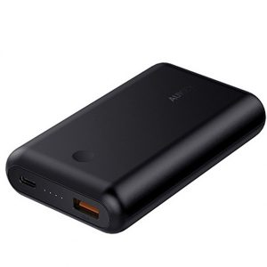 Aukey PB-XD10 10050mAh Power Delivery 2.0 USB C Power Bank With Quick Charge 3.0- 18 Months Warranty
