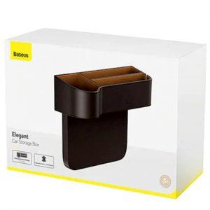 Baseus CRCWH-01 Elegant Car Storage Box-Black