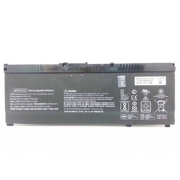 HP Gaming Pavilion 15-CX0153TX Omen 15-CE 15-DC Pavilion Power 15-CB023NB SR03XL SR04XL TPN-Q193 100% Original Laptop Battery