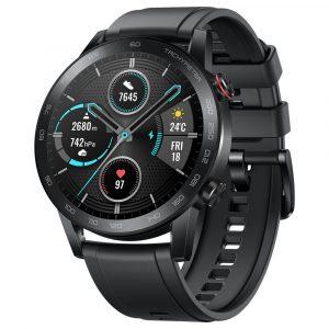 Huawei Honor Magic 2 46mm Smart Watch 5ATM Waterproof 1.39 AMOLED Sports GPS - Black