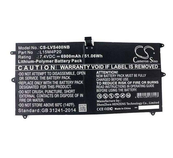 Lenovo YOGA 900S-12ISK 4S Series L15M4P20 53Wh 7.7V 100% Original Laptop Battery (Vendor Warranty)