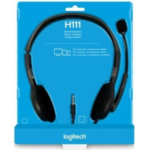 Logitech H111 Single Pin Wired Headphone