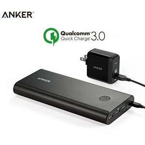 Original Anker B1374111 PowerCore+ 26800mAh Power Bank With Powerport+ 1 Quick Charge 3.0 Charger- 18 Months Warranty