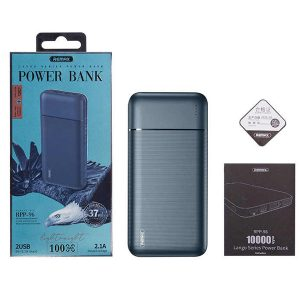 REMAX RPP-96 10000mAH Power Bank, Dual 2.1A, PRODA Power Bank For Xiaomi Samsung IPhone Huawei Aukey Anker PD-39 (3 Months Warranty)