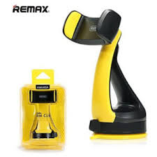 Remax RM-C15 Car Mobile Phone Holder Desk Stand For Phone 360 Rotation Suction Mobile Car Holder For Samsung S8 Iphone 6s Phone Holder (Black)