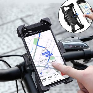 WiWU PL800 Bicycle Phone Holder Universal Motorcycle Mobile Phone Holder Handlebar Mount