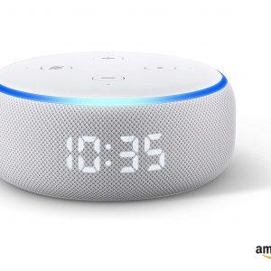 Amazon Echo Dot 3rd Gen. Smart speaker with Clock and Alexa - Sandstone