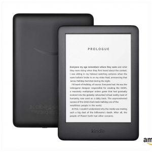 Amazon Kindle Built-in Front Light eBook Reader, 10th Gen.- Black