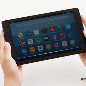 "Amazon Fire HD 8 Tablet with Alexa, 8"", 32 GB, 7th Gen. - Black"