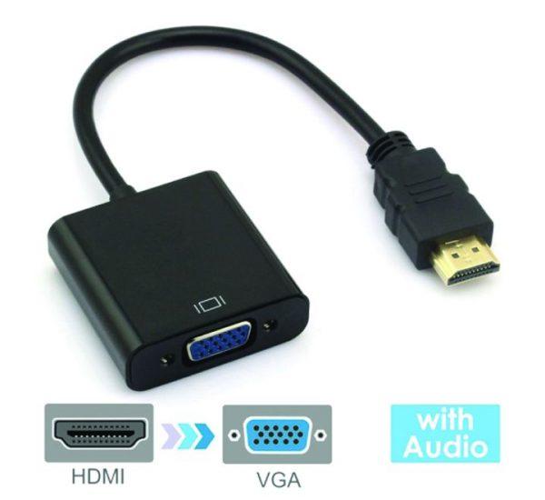 Baseus CAHUB-AH01 HDMI 1080P To VGA HD Converter With Audio
