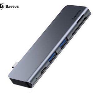 Baseus Cahub-K0G USB 3.0 * 2 / SD / TF for Macbook Pro Type C PD Power HUB