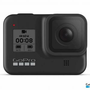 GoPro HERO8 - Waterproof Action Camera - Touch Screen 4K Ultra HD Video - Black