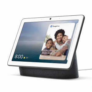 Google Nest Hub Max Smart Display & Speakers with Cam - Charcoal