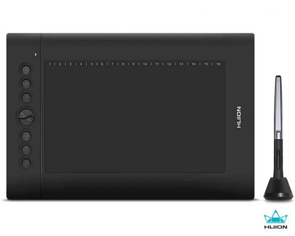 """Huion H610 Pro V2 Graphic Drawing Pen Tablet 10"""" X 6"""""""