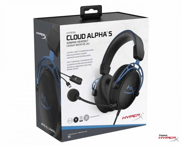 HyperX Cloud Alpha S - PC Gaming Headphone