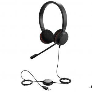 Jabra Evolve 20 Stereo Wired Headphone