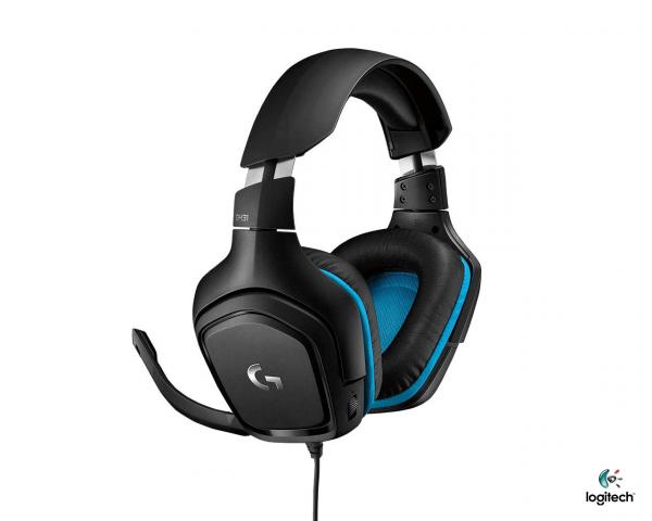 Logitech G431 Surround Sound Gaming Headphone