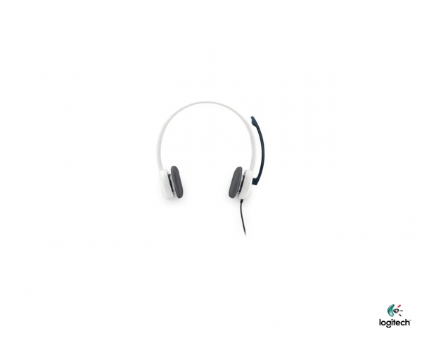 Logitech H150 Stereo Headphone with Mic - Cloud White