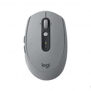Logitech M590 Silent Multi Device Wireless Mouse - Grey
