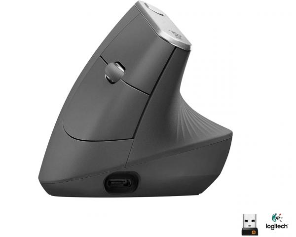 Logitech MX Vertical Wireless Advanced Ergonomic Design Mouse