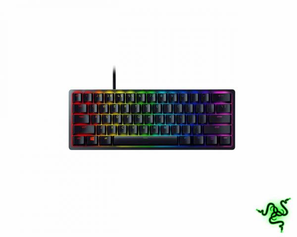 Razer Huntsman Mini 60% Gaming Keyboard Purple Switches