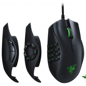Razer Naga Trinity Gaming Mouse - 16,000 DPI - Black