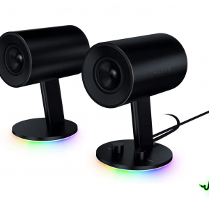 Razer Nommo Chroma 2.0 PC Gaming Speakers - Black