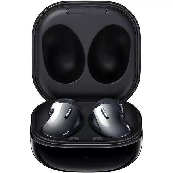 Samsung Galaxy Buds Live With Active Noise Cancellation & Deep Sound Stage – Mystic Black