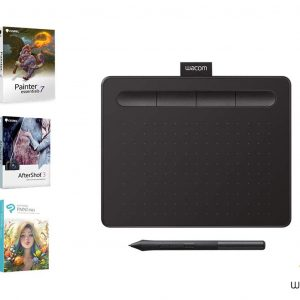 "Wacom Intuos CTL-4100 Small Pen Tablet 6"" x 3.7"" - Black"