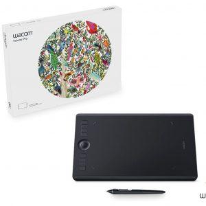 """Wacom Intuos Pro PTH-660 Medium Professional Pen Tablet 8.7"""" x 5.8"""""""