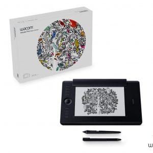 "Wacom Intuos Pro PTH-660P Medium Paper Edition Pen Tablet 8.7"" x 5.8"""