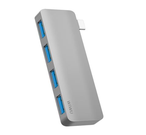 WiWu Hub USB-C Adapter T6S to 4xUSB3.0 HUB