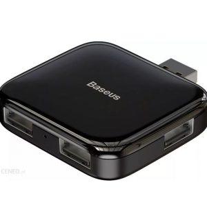 Baseus CAHUB-CW01 Adapter HUB Adapter Splitter 4x USB 2.0 + Micro USB For Power Supply Black