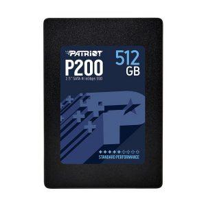 """Patriot 512GB P200 2.5"""" SATA III SSD Drive"""