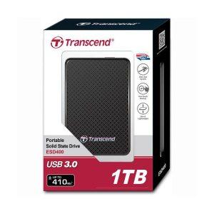 Transcend 1TB USB 3.0 External Solid State Drive (TS1TESD400K)