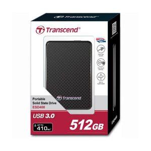 Transcend 512GB USB 3.0 External Solid State Drive (TS512GESD400K)