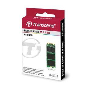 Transcend 64GB MTS600 SATA III M.2 Internal SSD