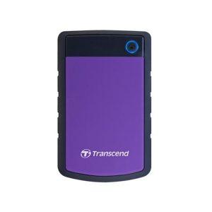 Transcend StoreJet 25H3 Hard Drive 2TB Purple