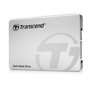 Transcend internal SSD 256GB (6.4 cm (2.5 inch), SATA III, MLC) with aluminum housing silver (TS256GSSD360S)