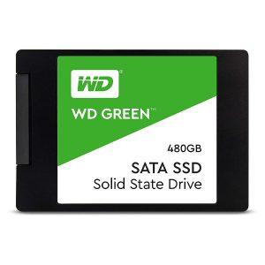 Western Digital Green SATA III 480GB 6-Gbs SSD