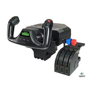 Logitech G Flight Simulator Yoke System with Throttle Quadrant
