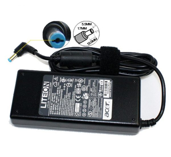 Acer Aspire 5536G 5540 5541G 5542G 5550 5551G 5553G 5560 5590 5610 5610Z 5620 90W 19V 4.74A Laptop AC Adapter Charger